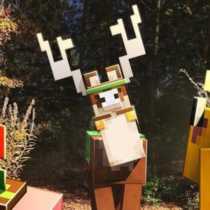 Minecraft Earth brings life-sized mob statues to London this weekend