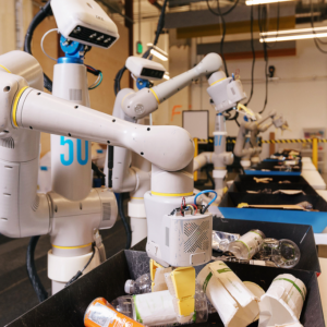 Alphabet's trash-sorting robots have lowered workplace waste contamination to 'less than 5%'
