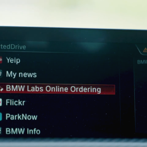BMW and Olo pilot in-car meals ordering for U.S. drivers