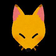 日本の昔話代表格のキツネとタヌキ  両方モッフモフだけど好み分かれそうだよね