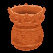 縄文土器を植木鉢にするのが夢