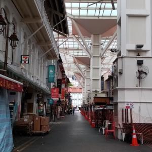 シンガポール、チャイナタウン周辺の様子など【閉鎖から初日と二日目】