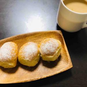 手ごねでコネコネ、ほっこり甘い朝ごパン。