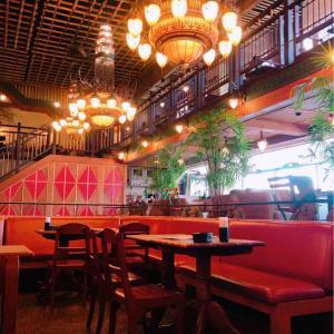 モンスーンカフェでお昼ごはん。