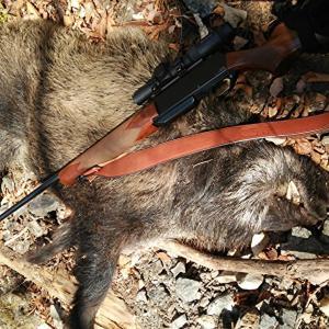 大猪を撃つ
