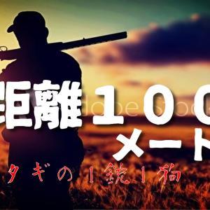 【狩猟】衝撃の瞬間!距離100メートル!走る鹿をライフル銃一発で撃ち落とす。