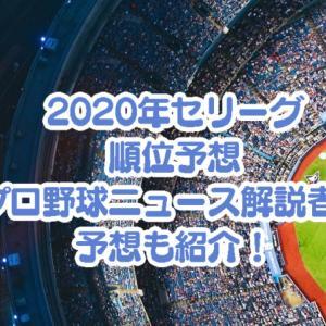 【セリーグ】2020年の順位予想!プロ野球ニュースの解説者の予想一覧も紹介