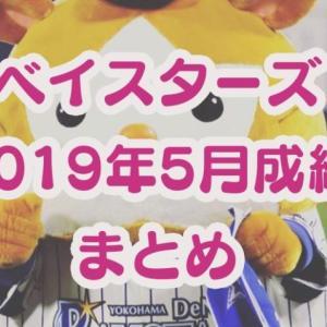 ベイスターズ2019年5月成績まとめ。今永昇太が月間MVP初受賞!
