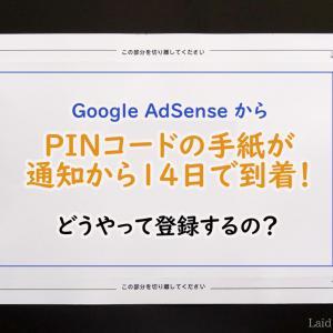 2019年Google AdSense・PINコードの入力&反映されない時の対処法!