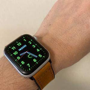 Apple Watch のバンドを付け替えてみた