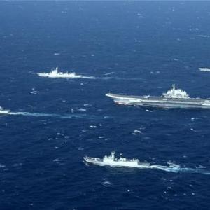 台湾を囲い込む中国