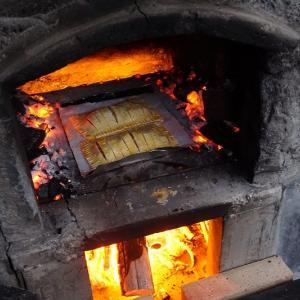 無料開放のピザ窯でアップルパイを焼く!/CAMPAKAIKE-後編