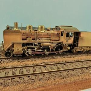 プチモジュールと蒸気機関車