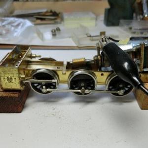 C12のバルブギア組立と調整