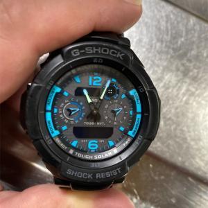 G-SHOCK GW-3500の電池交換。
