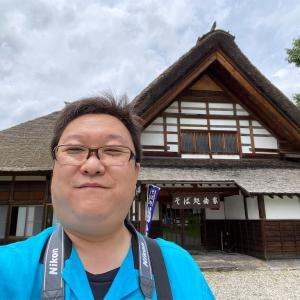 前沢集落の曲家に行きました。