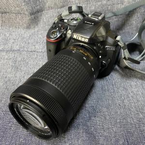 AF-P NIKKOR 70-300mmを購入。