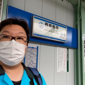 西高島平駅でちょっとだけ撮影しました。