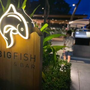 ホアヒンMarriott ⑥Big Fish and Bar