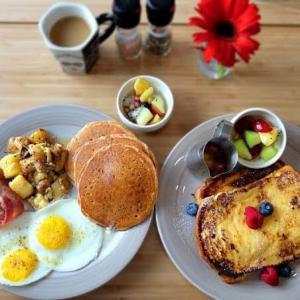 アメリカ人が通う朝食屋さん