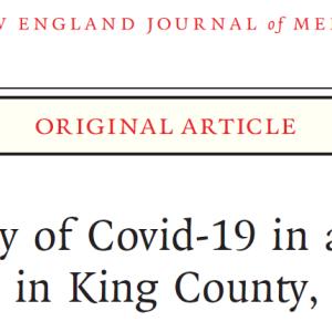 新型コロナウイルス:米国 介護施設での感染拡大 疫学報告(NEJM)
