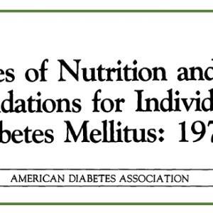 食事療法の迷走[18]米国糖尿病学会はどうしたか