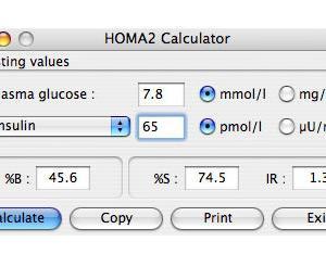 インスリン抵抗性を考えてみました[7] 現在はHOMA2に