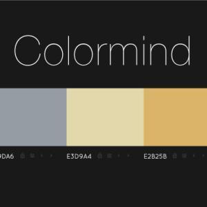 配色カラーパレット生成サービス「Colormind」!! AIによる自動生成!!