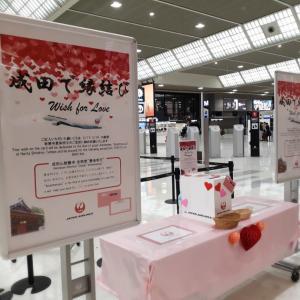 成田空港で縁結び♡?
