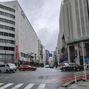 今日の移動中の『ぶつぶつ』と新宿…