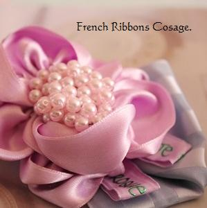 French ribbon Cosage.