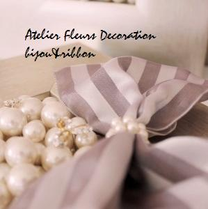 Pearl frame. bijou&ribbon