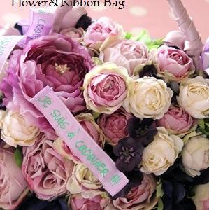 Flower&Ribbon bag