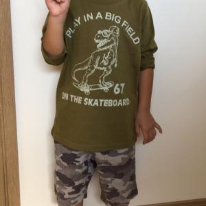 【8107】キムラタンから届いた洋服を年中息子が着てみました♪