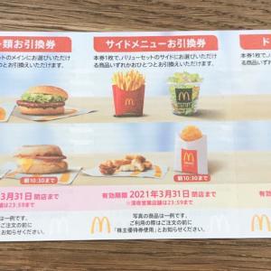 【2702】日本マクドナルドの優待で何を注文しようか検討会♪東証はシステム障害で終日取引停止。