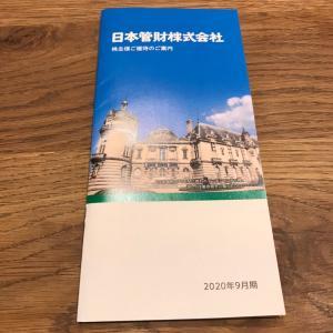 【9728】日本管財から優待カタログ到着(2020年9月末権利)