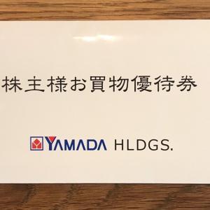 【9831】ヤマダホールディングスから優待到着♪(2020年9月末権利)売り切れで残念。