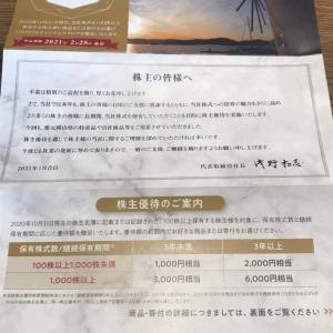 【7856】萩原工業から優待案内到着♪(2020年10月末権利)