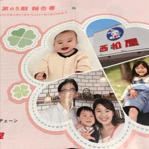 【7545】西松屋から優待到着(2021年2月20日権利)