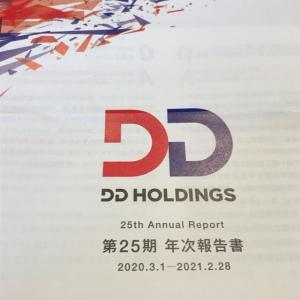 【3073】DDホールディングスの優待到着(2021年2月末権利)ポイント交換はなくなりました。