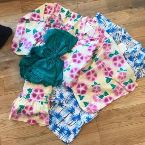 【8107】キムラタンの優待クーポンで子供たちの浴衣を購入しました♪