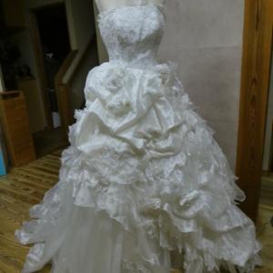 ウェディングドレス リメイク no.55