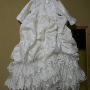ウェディングドレス リメイク no.55 セレモニードレスあと少し