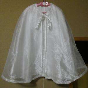 ウェディングドレス リメイク no.55 ケープ・スタイ・ボンネット