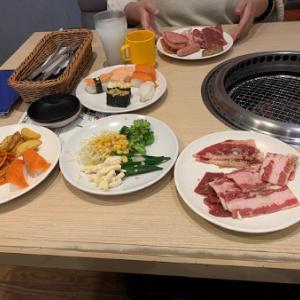 ふぅちゃんにドール お昼に焼肉