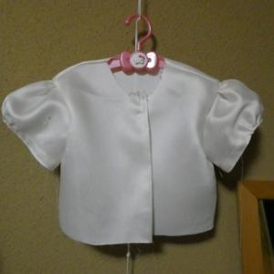 Wドレス リメイク→100サイズドレス 縫い縫い (R57)