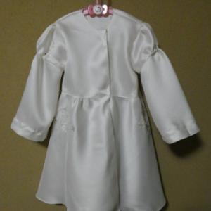 Wドレスリメイク4→100サイズ白雪姫ドレス ベース出来上がり(R57)
