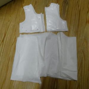 Wドレスリメイク→100サイズジャンパースカート カット (R57)
