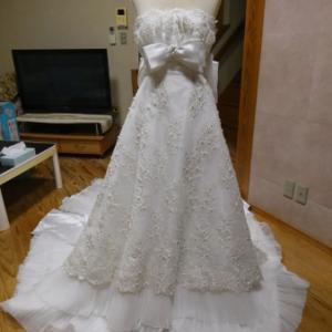 ウェディングドレス リメイク R61