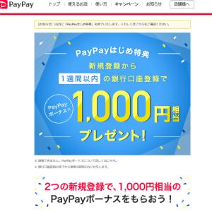 PayPay使ってみて 20日目のこと